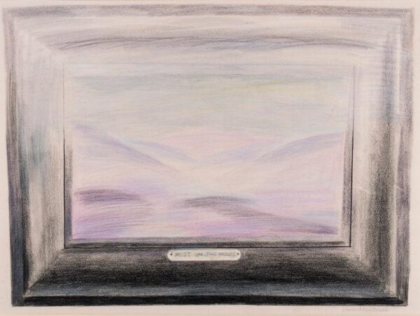 HARTE Glynn Boyd (1948-2003) - 'Mist on the Moors'.