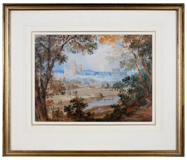HASTINGS Edward (1781-1861) - 'Durham from Pelaw Wood.