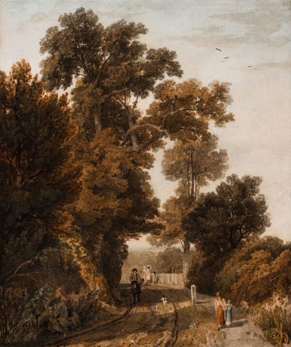 HAVELL William O.W.S. (1782-1857) - Landscape.