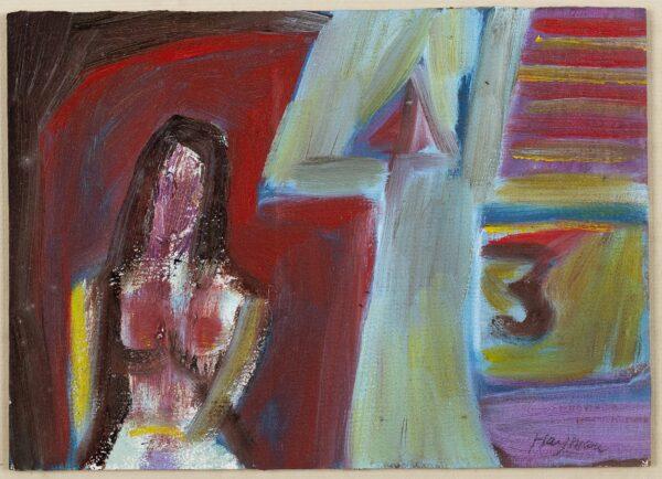 HAYMAN Patrick (1915-1988) - 'Nude'.