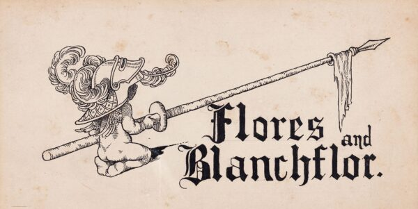 HEATH-ROBINSON William (1872-1944) - 'Flores and Blanchflor'.