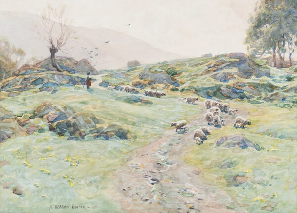 HEATON COOPER Alfred (1864-1929) - 'Entrance to Fusedale, Ullswater'.