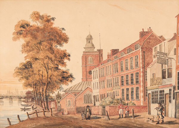 HEHL S. (Regency) - 'Chelsea Church'.