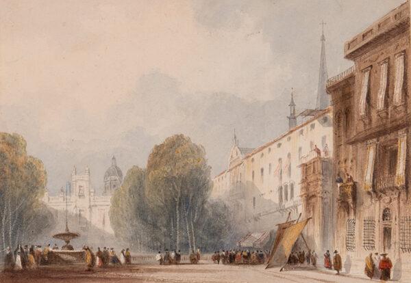 HENDERSON John (1764-1843) - Spanish square.