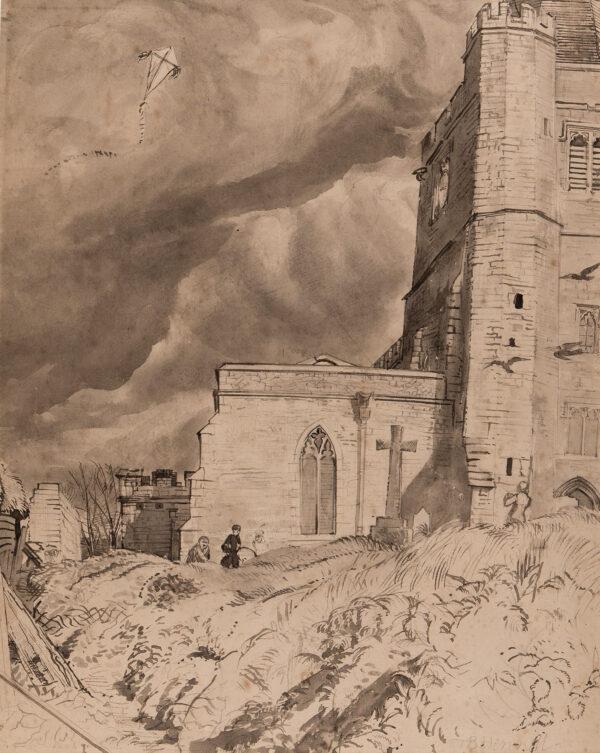 HENNELL Tom R.W.S. (1903-1945) - St Werburgh, Hoo.