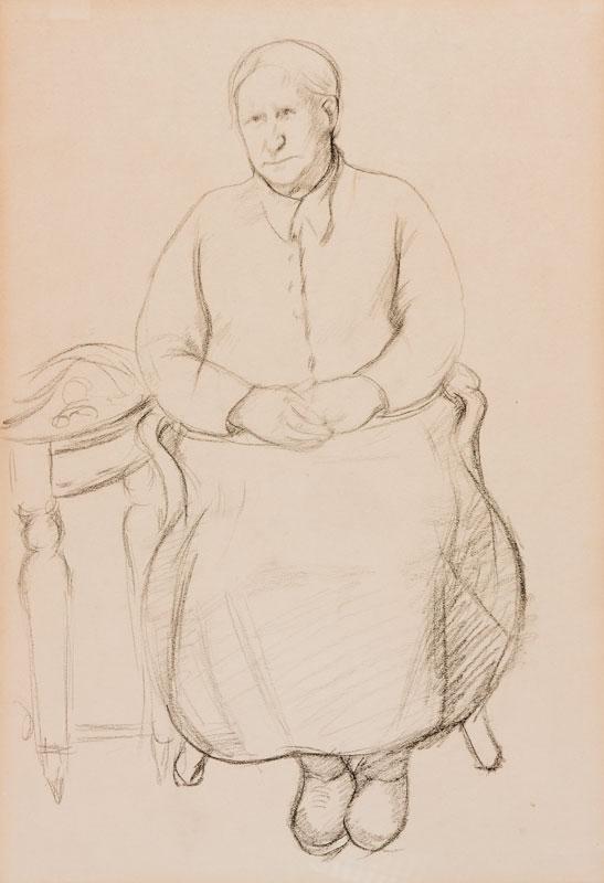 HEPWORTH Dorothy (aka Patricia Preece) (1894-1971) - 'Mrs Barnes', the servant of Stanley Spencer.