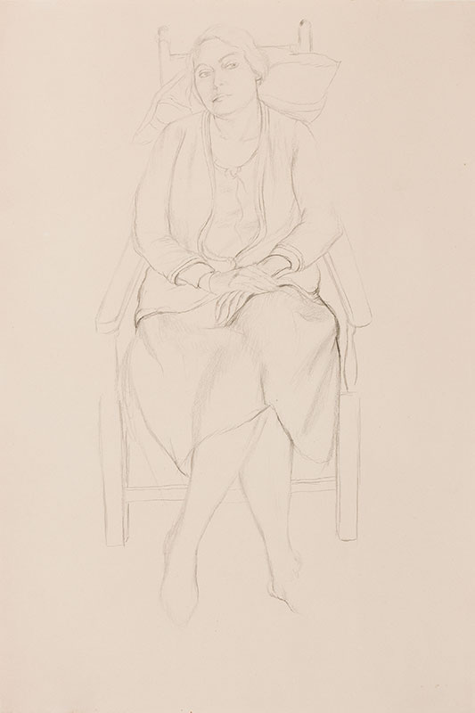 HEPWORTH Dorothy (aka 'Patricia Preece') (1894-1978) - Seated woman.