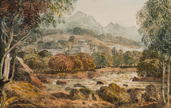HERIOT George (1759-1839) - Taymouth Castle, Perthshire.