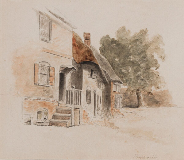 HILLS Robert O.W.S (1769-1844) - 'Broadwater', probably Kent but possibly Hertfordshire, Sussex or Surrey.