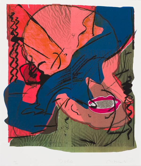 HILTON Matthew (b.1948) - 'Dora'.