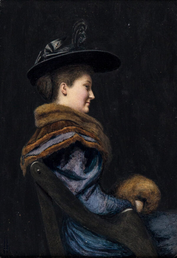 HINCHCLIFF Woodbine Kendall (1874-1915) - 'Miss Edith Milner'.