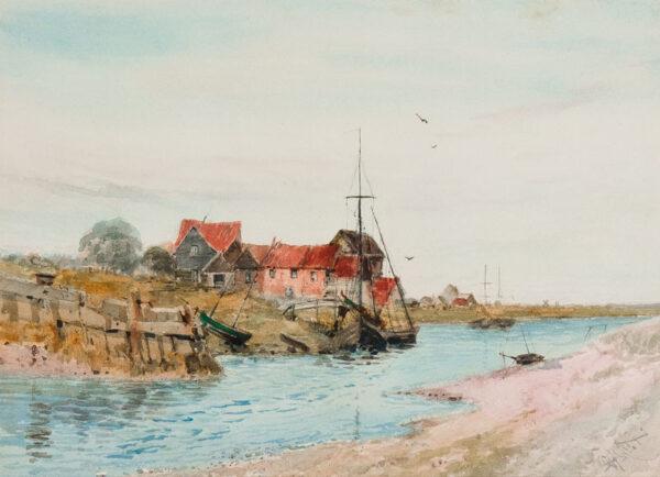 HISCOX George Dunkerton (1840-1909) - Suffolk.