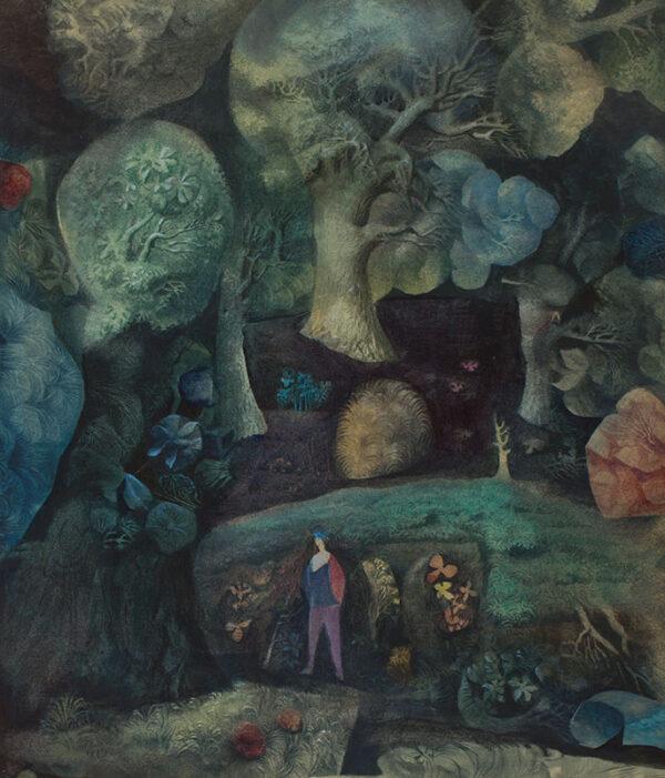 HITCHCOCK Harold (1914-2009) - 'The Wood'.