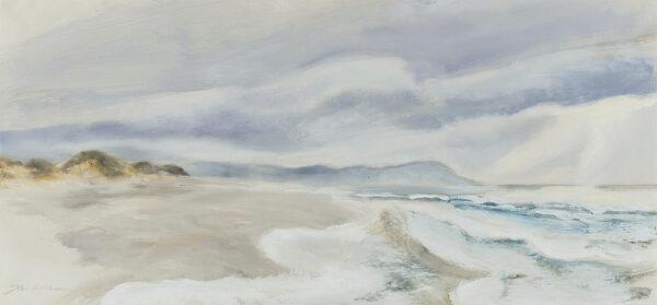 HITCHENS John (b.1940) - 'Shell Island Sands, Mochras, Merioneth'.