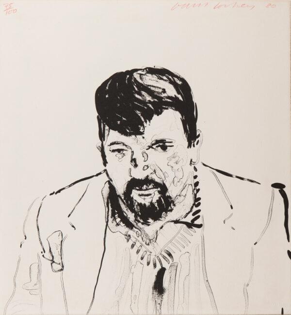 HOCKNEY David O.M. C.H. R.A. (b.1937) - 'John Hockney', the artist's brother.