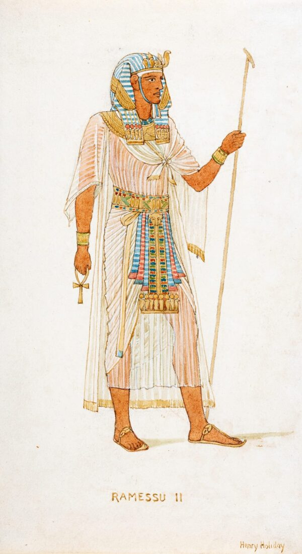 HOLIDAY Henry (1839-1927) - 'Ramessu II'.