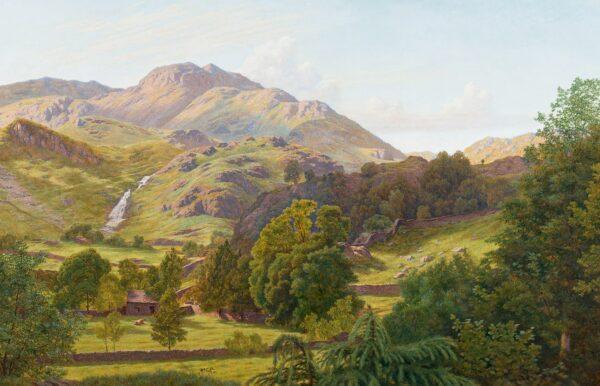 HOLLIDAY Henry (1839-1927) - 'Easedale, Westmoreland.
