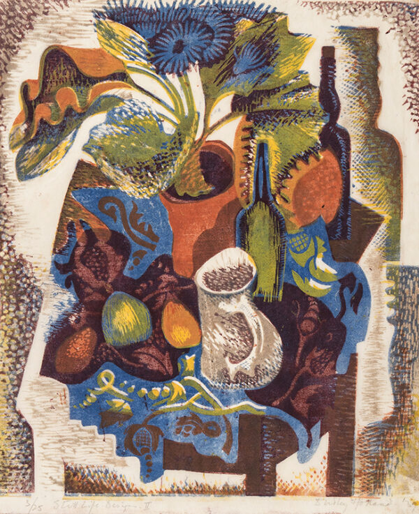HOLLAND Dudley (1915-1956) - 'Still Life Design II'.
