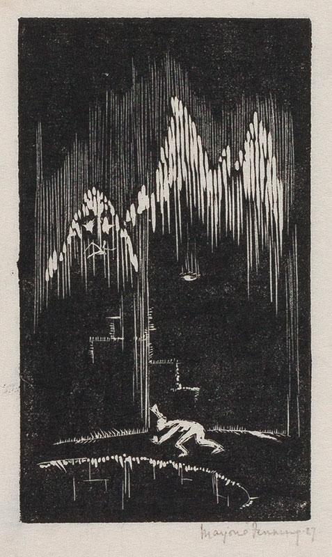 HOLMES Marjorie (née Fenning) (1907-1992) - The Cave.