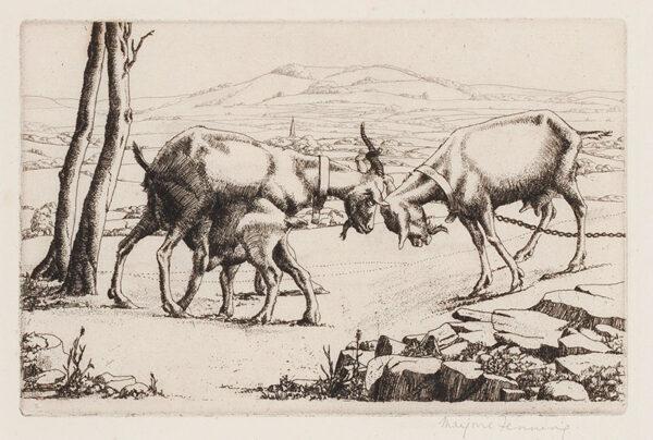 HOLMES Marjorie (née Fenning) (1907-1992) - Goats.