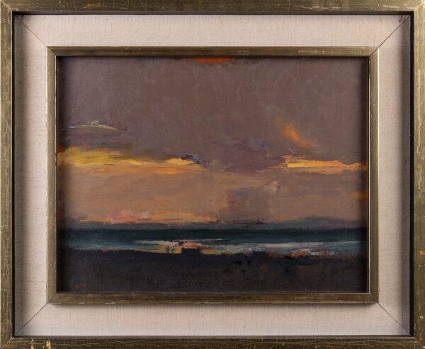 HOUSTON John RSA (1930-2008) - 'House by the Sea, Harris'.