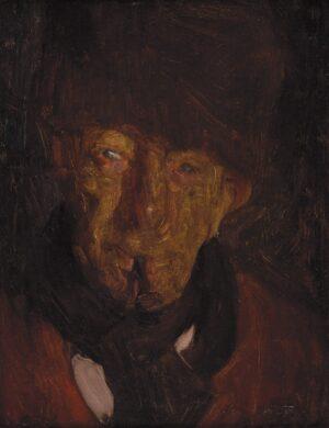 Beatrice How (1867-1932) -  'Vieux Hollandais – M.