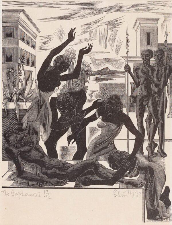 HUGHES STANTON Blair (1902-1981) - 'The Orphans I'.