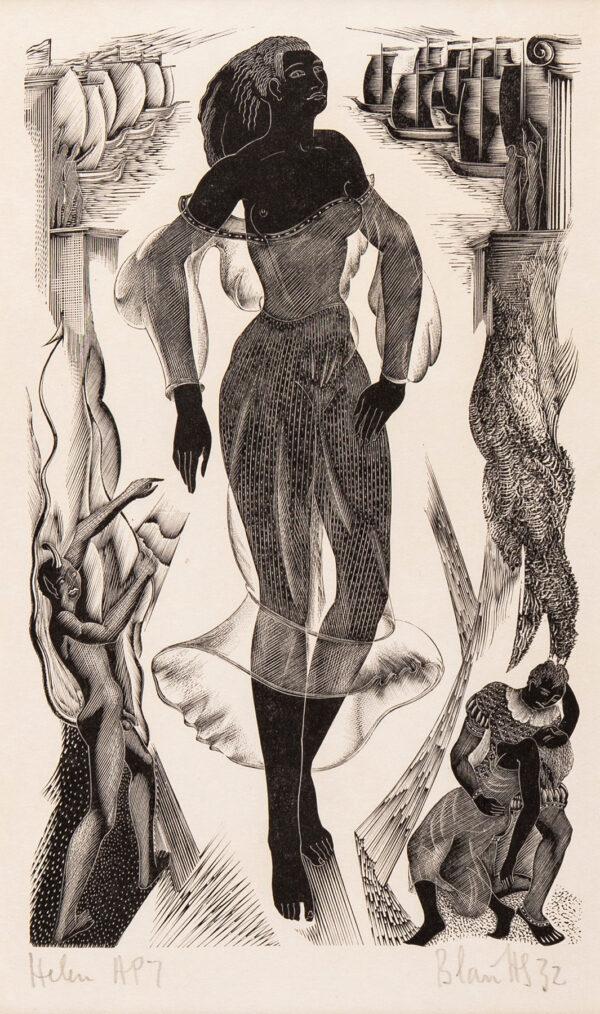 HUGHES-STANTON Blair (1902-1981) - 'Helen'.