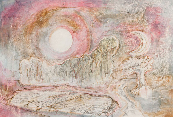 HURRY Leslie (1909-1978) - Two Moons.