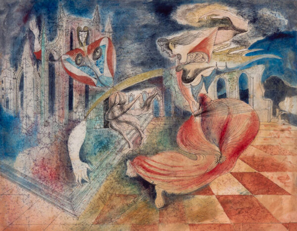 HURRY Leslie (1909-1978) - 'The Dance'.