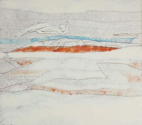 HYATT Derek (1931-2015) - 'Mist Clearing'.