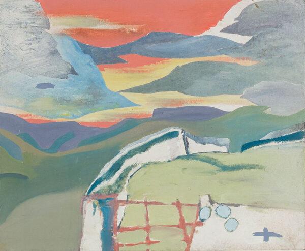 HYATT Derek (b.1931) - Wave Clouds, Bishop's Dale.