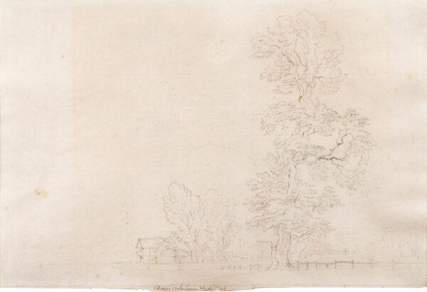 SANDBY Paul R.A. (1725-1809) - 'Cheese Cake house, Hyde Park'.