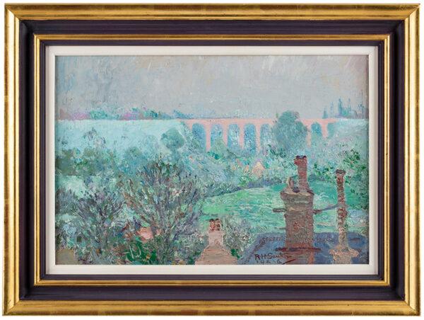 SAUTER Rudolf Helmut (1895-1977) - 'The Rose Viaduct'.