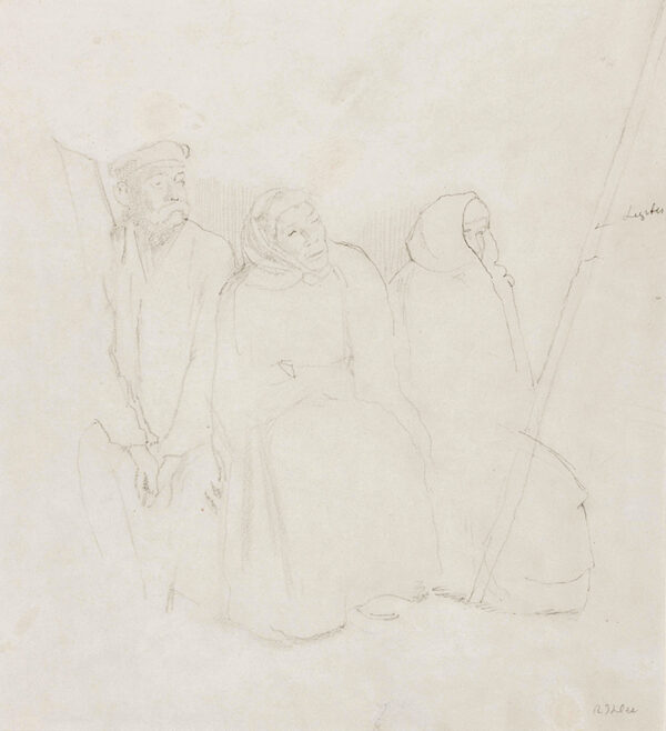 IHLEE Rudolph N.E.A.C. (1883-1968) - Study for 'The Magic Wand'.