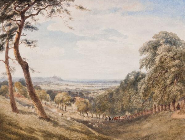 INCE Joseph Murray (1806-1859) - 'Harrow - on - the - Hill'.