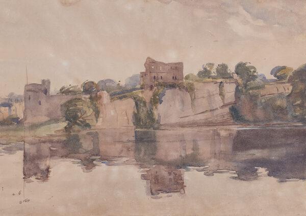 INNES John Dickson (1887-1914) - Chepstow Castle.