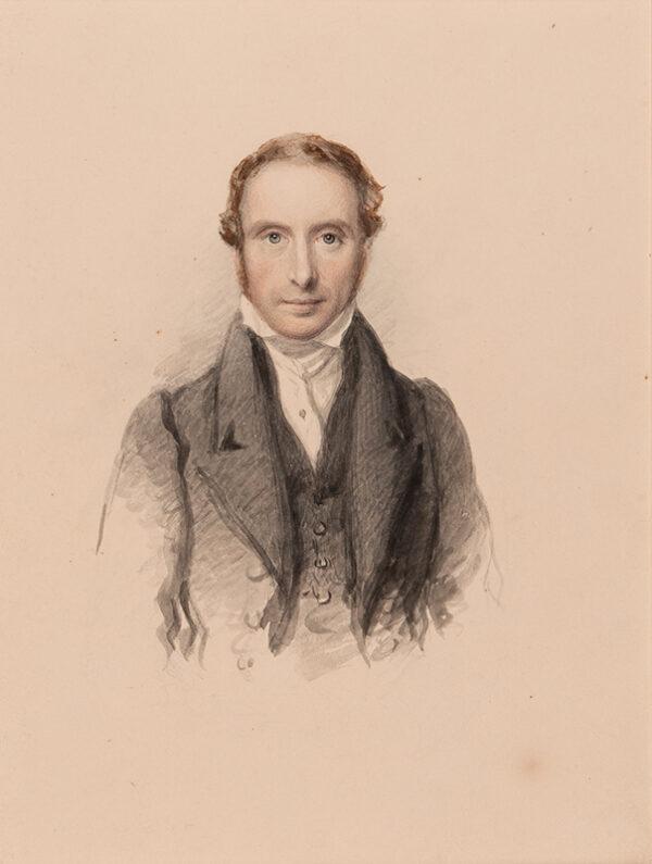 JACKSON John R.A. (1781-1831) - Portrait of Samuel Prout O.