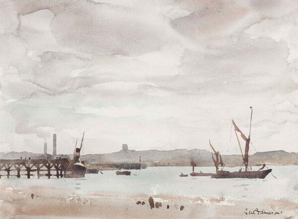 JAMESON Cecil Stuart (1884-c.1962) - Essex: 'Grays, near Gravesend'.