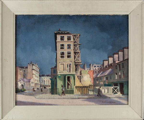 JAMIESON Robert Kirkland (1883-1950) - After the Blitz.