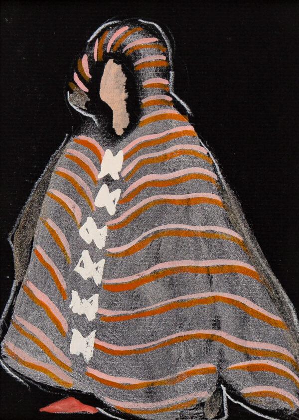 JARMAN Derek (1942-1994) - Costume design for 'Don Giovanni'.