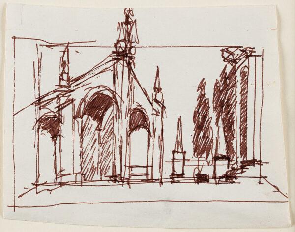 JARMAN Derek (1942-1994) - 'Don Giovanni': set design.