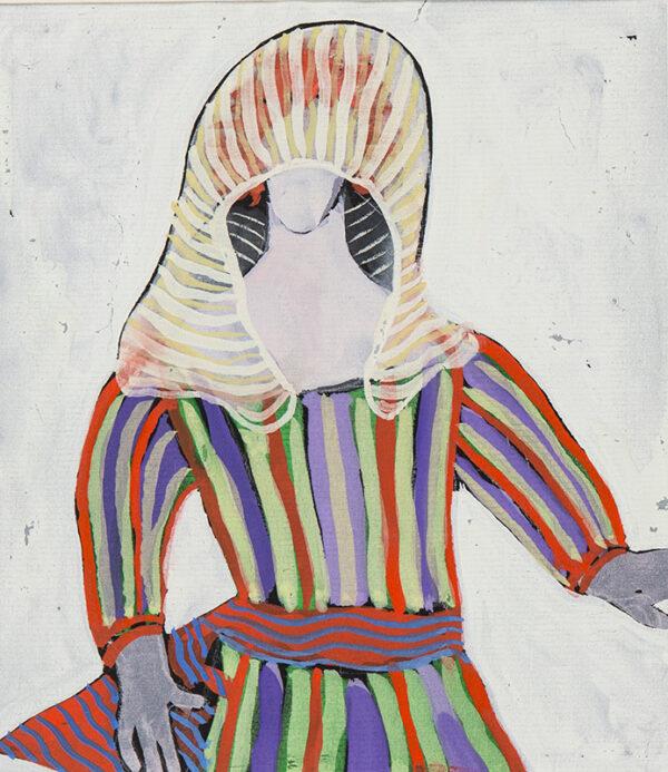 JARMAN Derek (1942-1994) - Hooded figure: costume design for 'Don Giovanni', (Dir.