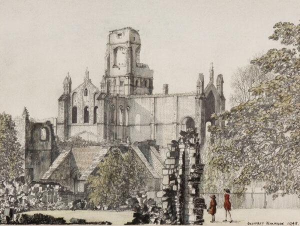 JENKINSON Geoffrey (1925-2006) - Yorkshire: Abbey ruins.