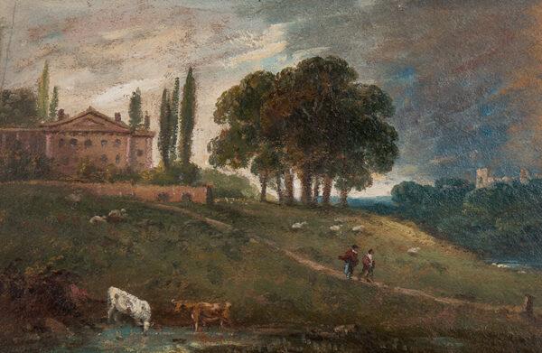 JENNINGS William George (1763-1854) - Hampstead capriccio.