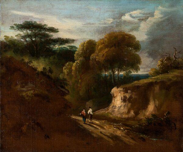 JENNINGS William George (1763-1854) - Hampstead Heath.