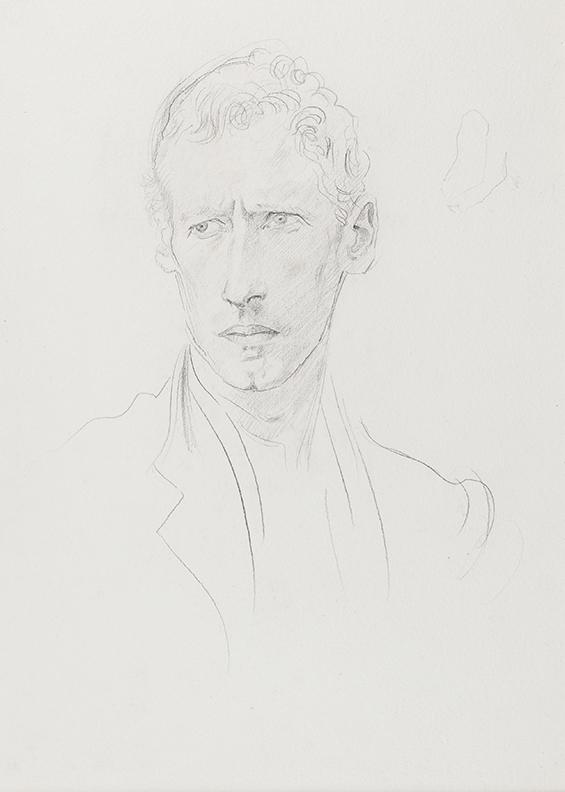 JOHN Augustus O.M. R.A. (1878-1961) - 'Charles Slade'.