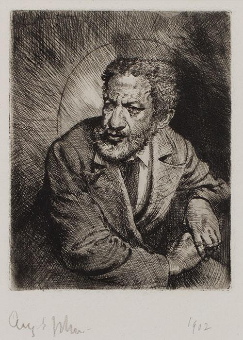 JOHN Augustus O.M. R.A. (1878-1961) - 'The Mulatto' (CD29) Etching.