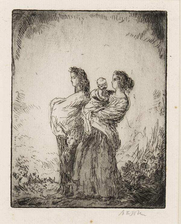 JOHN Augustus O.M. R.A. (1878-1961) - 'The Little Pilgrims' (CD.