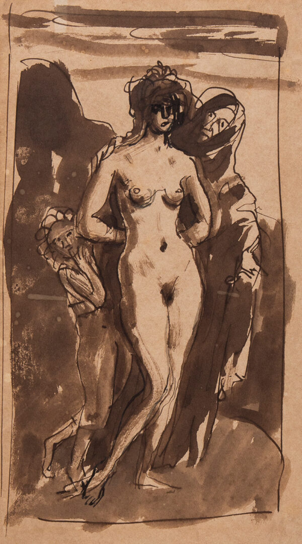 JOHN Augustus O.M. R.A. (1878-1961) - The Three Ages of Woman.